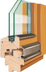 Евроокна деревянные со стеклопакетом на заказ - foto 1