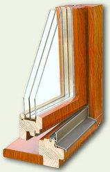 Евроокна деревянные со стеклопакетом на заказ - foto 2